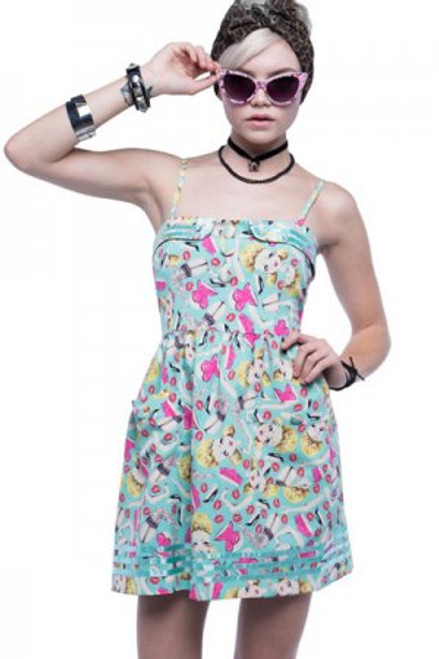 Iron Fist Doll Parts Dress  IFL-DRS-3013