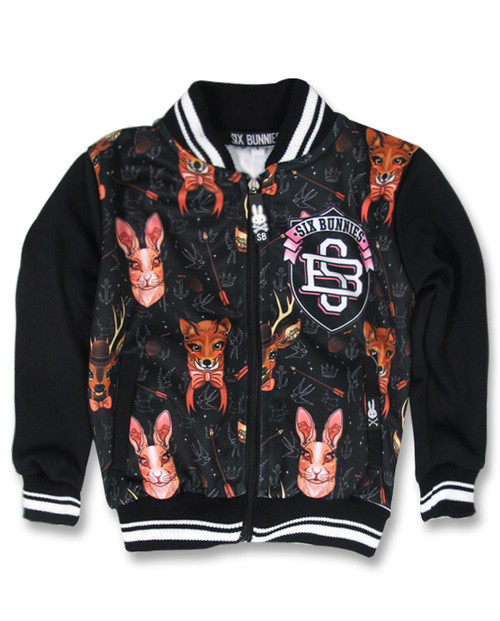 Six Bunnies Forest Animals Jackets  SB-KJK-00020-NCL