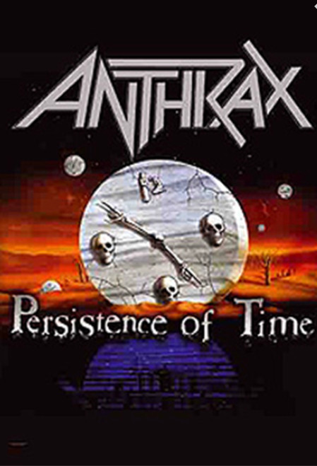 Anthrax Persistence Of Time Wall Flag  HFL0787