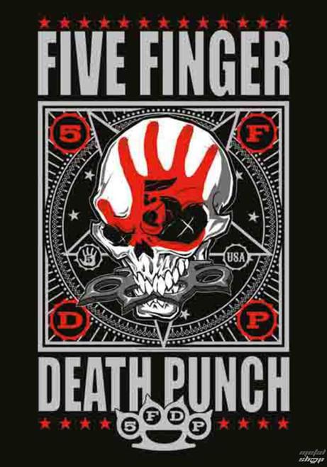 Five Finger Death Punch Punchagram Wall Flag  HFL1140