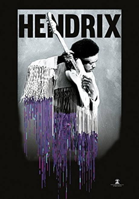 Jimi Hendrix Dripping Wall Flag  HFL1178