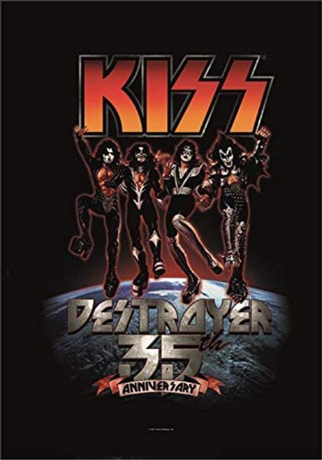 Kiss Destroyer 35th Wall Flag  HFL1057