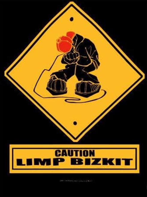 Limp Bizkit Caution Wall Flag  HFL280