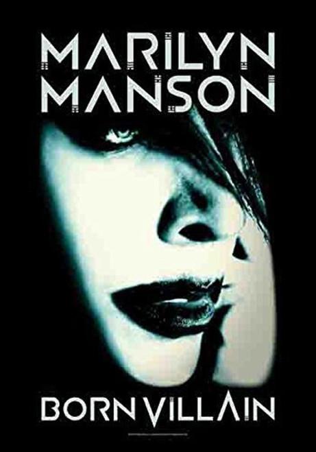 Marilyn Manson Born Villain Wall Flag HFL1189