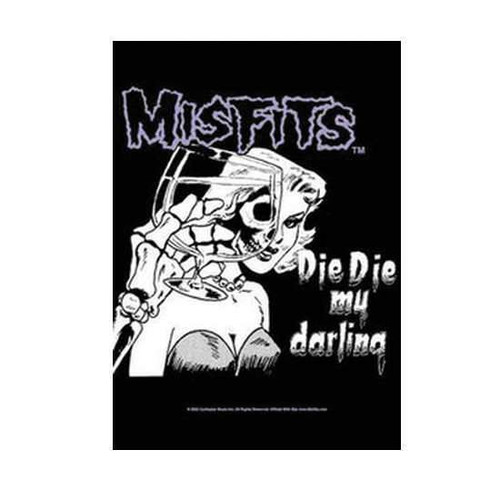 Misfits Die Die My Darling Wall Flag  HLF0466