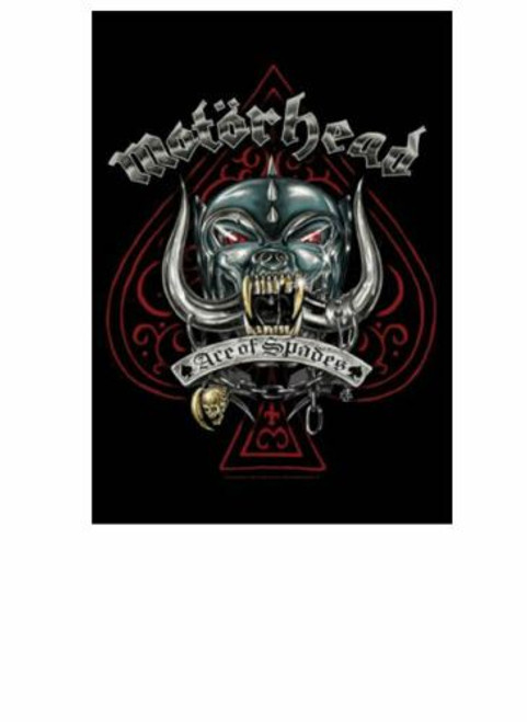 Motörhead Ace Of Spades Wall Flag  HFL1202