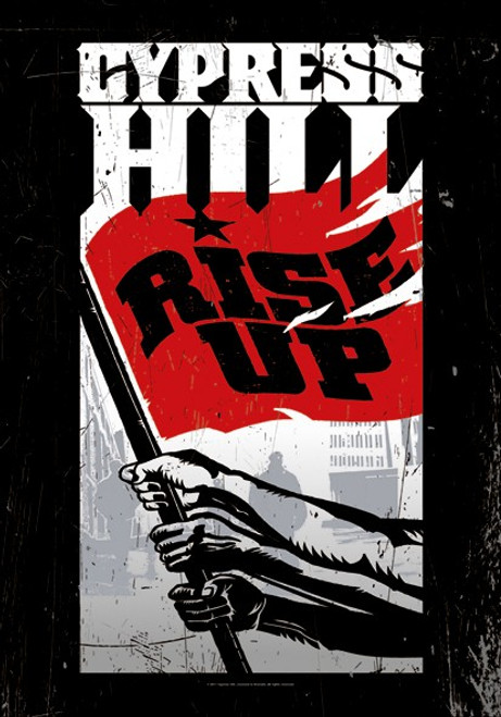 Cypress Hill Rise Up Wall Flag  HFL1077