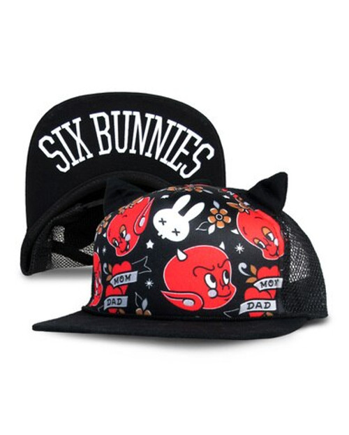 Six Bunnies Mom & Dad Kid's Cap  SB-CAP-049