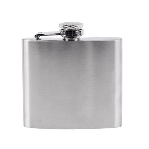 5oz Stainless Steel Hip Flask  FLASK-SS-5