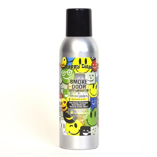 Smoke Odor Exterminator 7oz Happy Daze Air Freshener Spray  SOES-HD