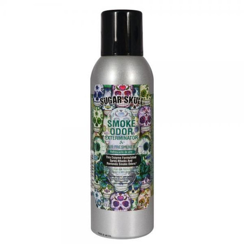 Smoke Odor Exterminateur 7oz Sugar Skull Air Freshener Spray  SOES-SS