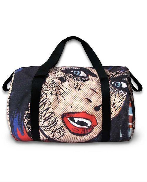 Liquor Brand Vampire Duffle Bag (B-DUF-00047)