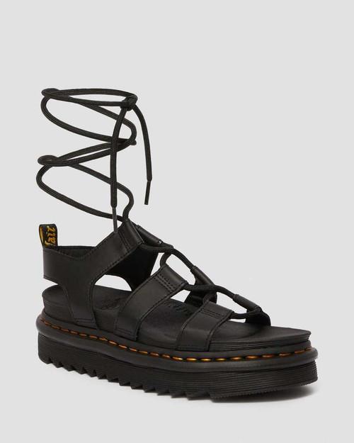 Sandales de gladiateur en cuir pour femmes Dr. Martens Nartilla