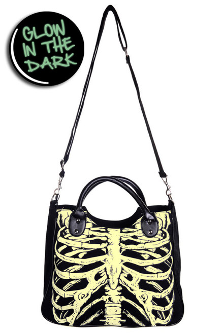 Banned Glow In The Dark Shoulder Bag