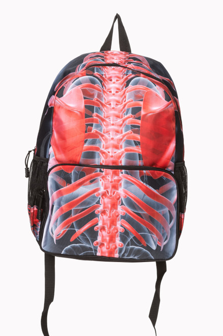 Banned Signals Red Backpack