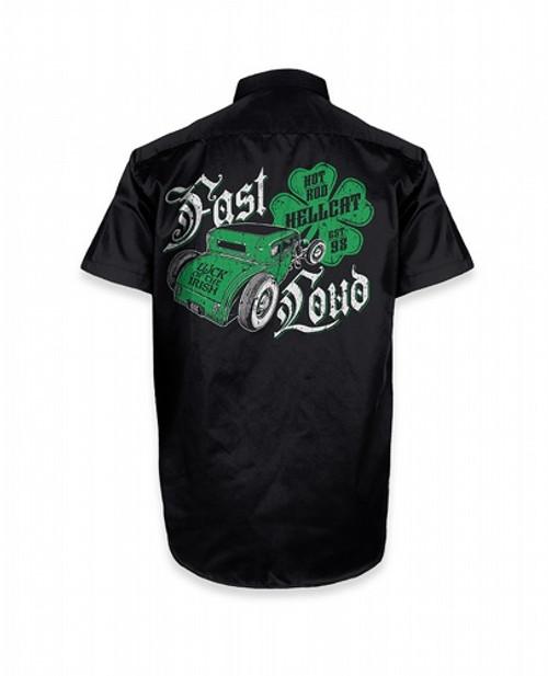 Hotrod Hellcat Irish Work Shirt  HR-WSH-00027