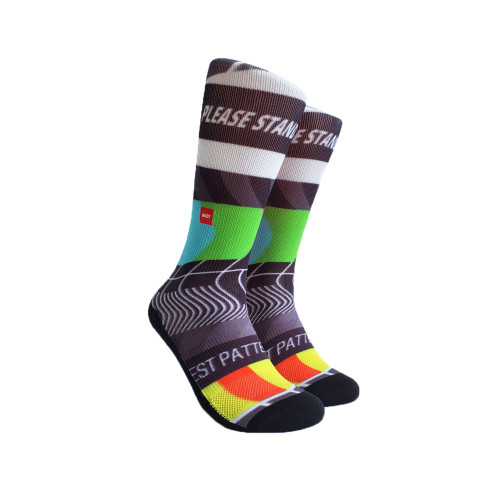 UNDZ TV Glitch Active Socks  UNDZ-S-TV