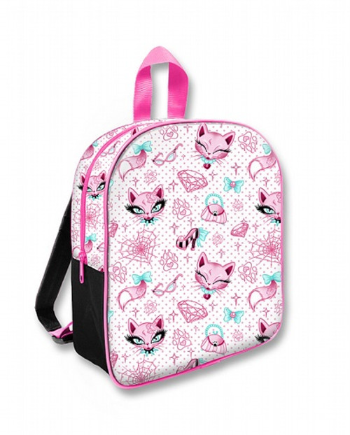 Six Bunnies Miss Kitty Kid's Backpack  SB-BPK-017