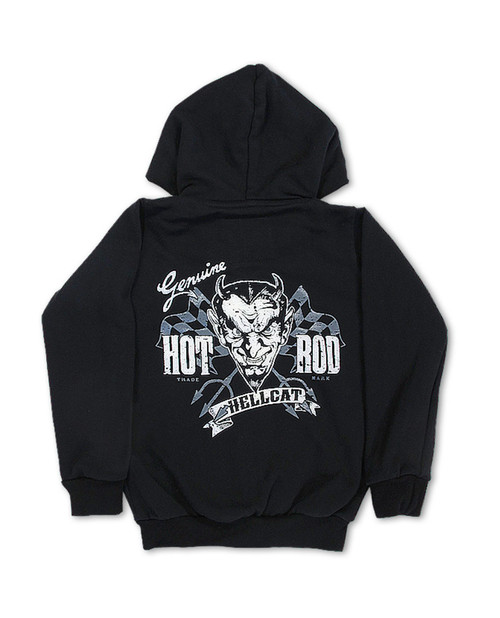 Hotrod Hellcat Genuine Devil Kid's Hoodie  HR-KHD-010