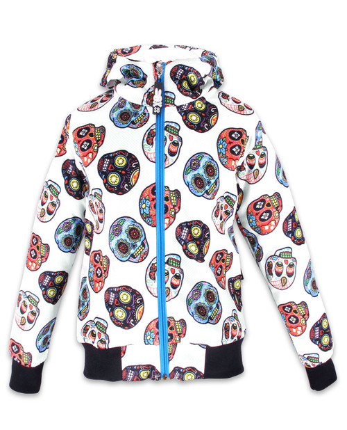 Six Bunnies Sugar Skull II Kids Mesh Jacket