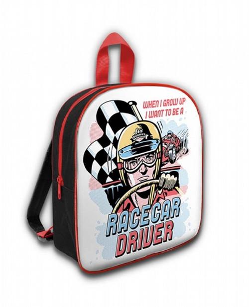 Six Bunnies Racecar Driver Kid's Backpack  SB-BPK-021