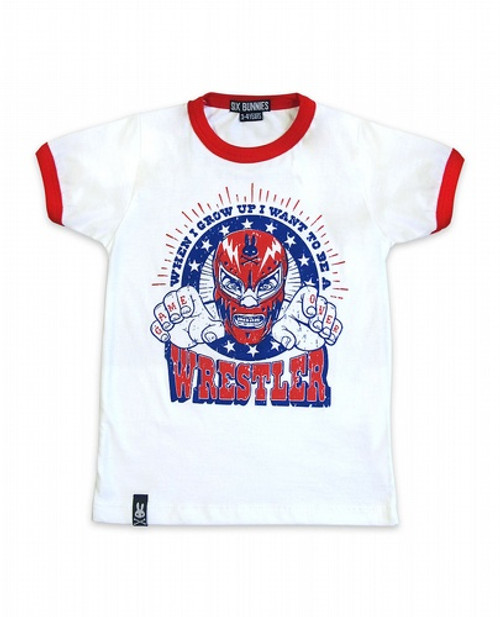 Six Bunnies Wrestler Kids T-Shirt  SB-KTS-00079