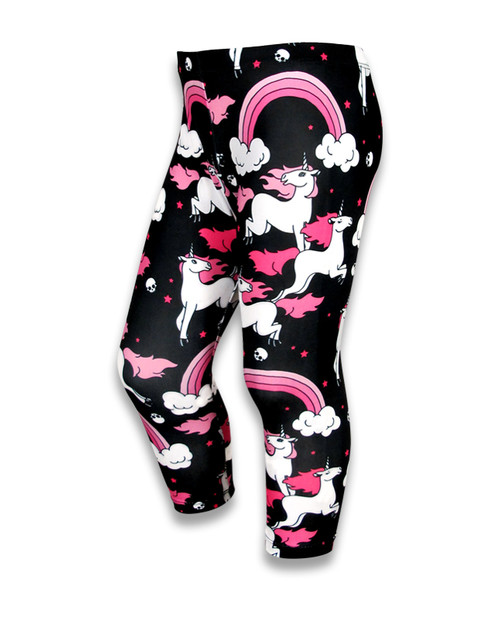Six Bunnies Legging noir arc-en-ciel  SB-LEG-00025