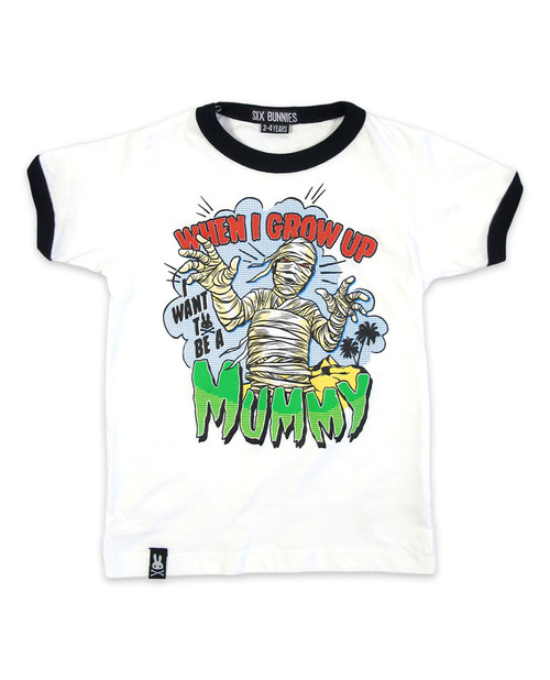 Six Bunnies Mummy Kids T-Shirt  SB-KTS-00078