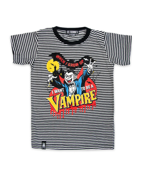 Six Bunnies Vampire Kids T-Shirt  SB-KTS-00077