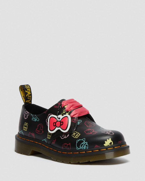 Dr. Martens Hello Kitty & Friends 1461 Chaussures Oxford en cuir lisse