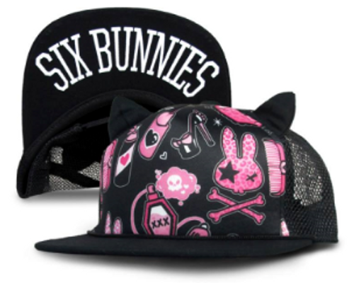 Six Bunnies Beauty Kid's Cap
