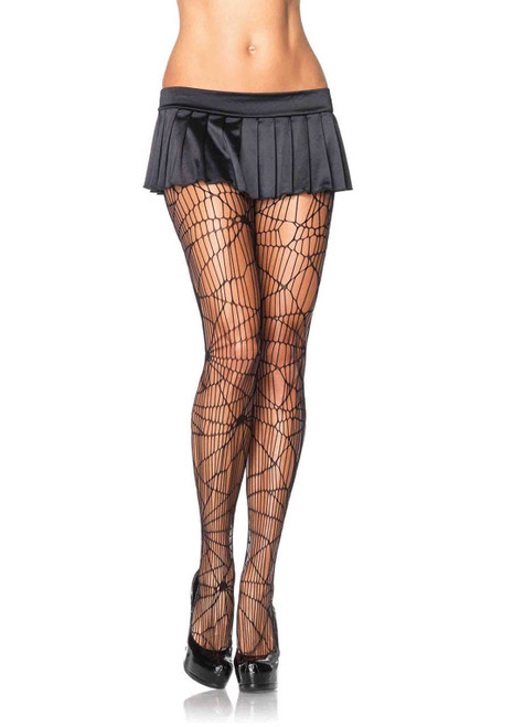 Leg Avenue Distressed Net Pantyhose Tights  LA-9934