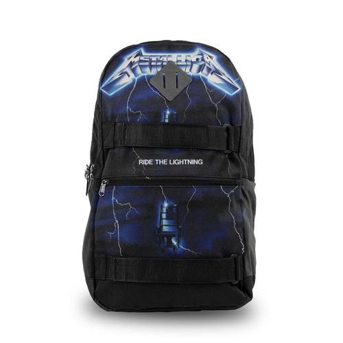 Rocksax Metallica Ride the Lightning Skate Backpack