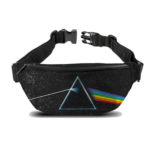 Rocksax Pink Floyd Dark Side Of The Moon Fanny Pack