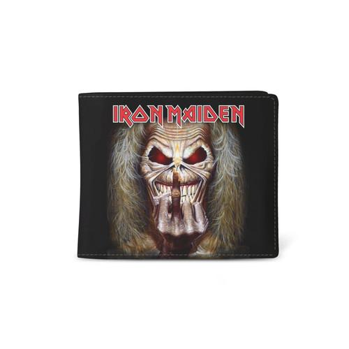 Rocksax Iron Maiden Middle Finger Wallet  WALIRM01