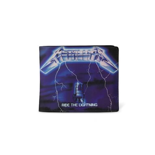 Rocksax Metallica Ride The Lightning Wallet  WALMET01