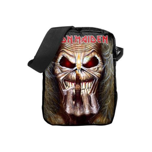 Rocksax Iron Maiden Middle Finger Crossbody Bag