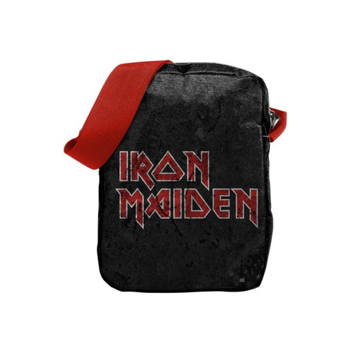 Rocksax Iron Maiden Logo Crossbody Bag