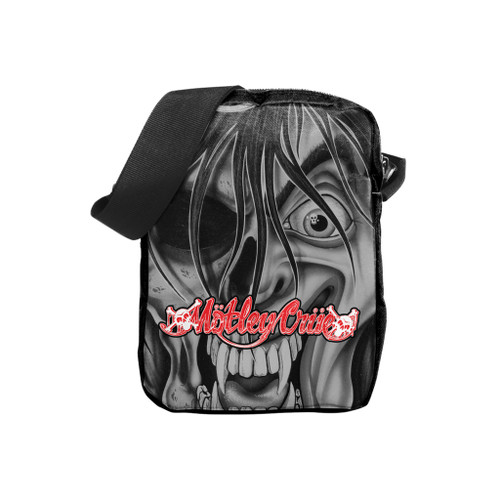Rocksax Motley Crue Dr.Feelgood Face Crossbody Bag