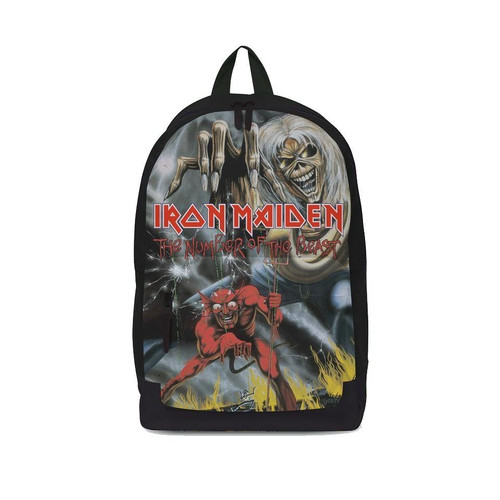 Rocksax Iron Maiden Number Of The Beast Classic Backpack