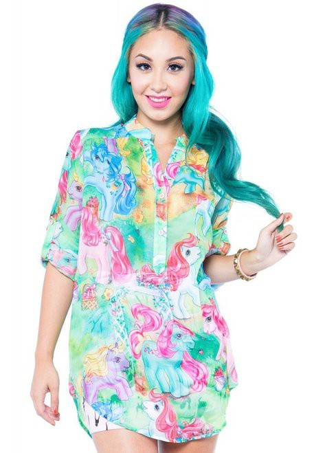 Iron Fist My Little Pony Blouse