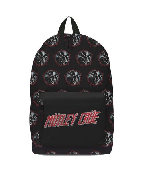 Rocksax Motley Crue Heavy Metal Power Classic Backpack