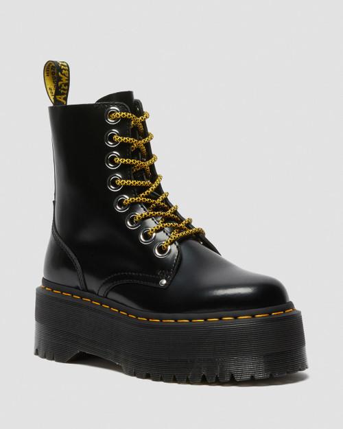 Dr. Martens Jadon Max Women's Platform Boot Black Buttero  DR-25566001
