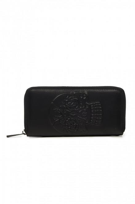 Banned Skull Embross Wallet  WT1495