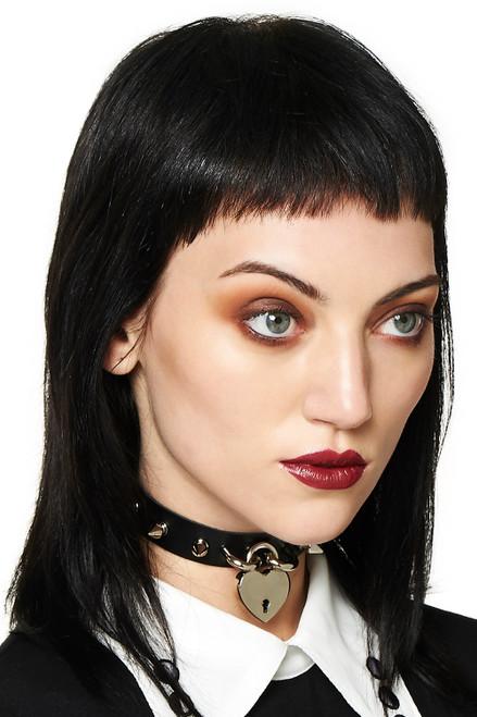 Banned Bellatrix Black Choker  AC2416BLK