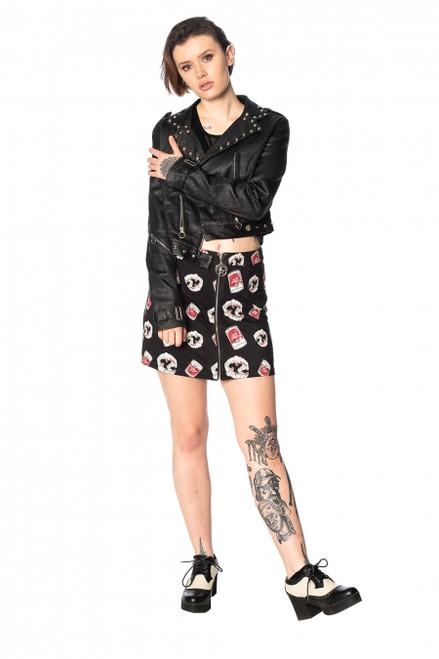 Banned Glampire Bodycon Skirt  SK25046