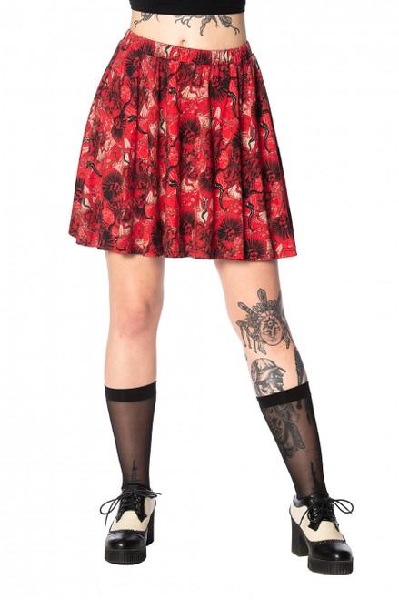 Banned Mad Dame Skater Skirt  SK25047