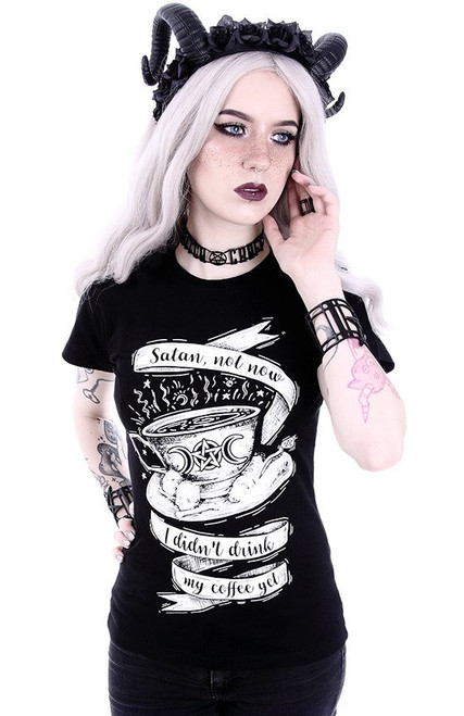 Restyle Satan Not Now T-shirt RST-T-SATAN