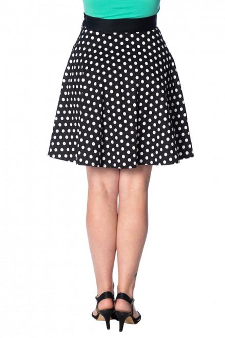 Banned Polka Love 50's Skirt  SK25004