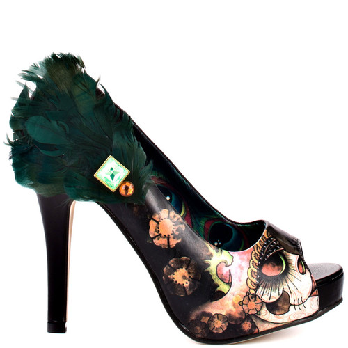 Iron Fist Vanity Fair Peep Toe Platform 10946-SMU